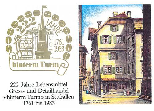 Turm Kaffee St.Gallen